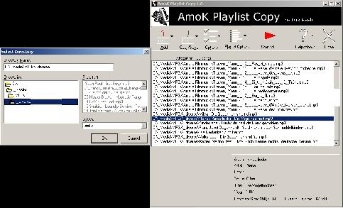 Screenshot AmoK Playlist Copy